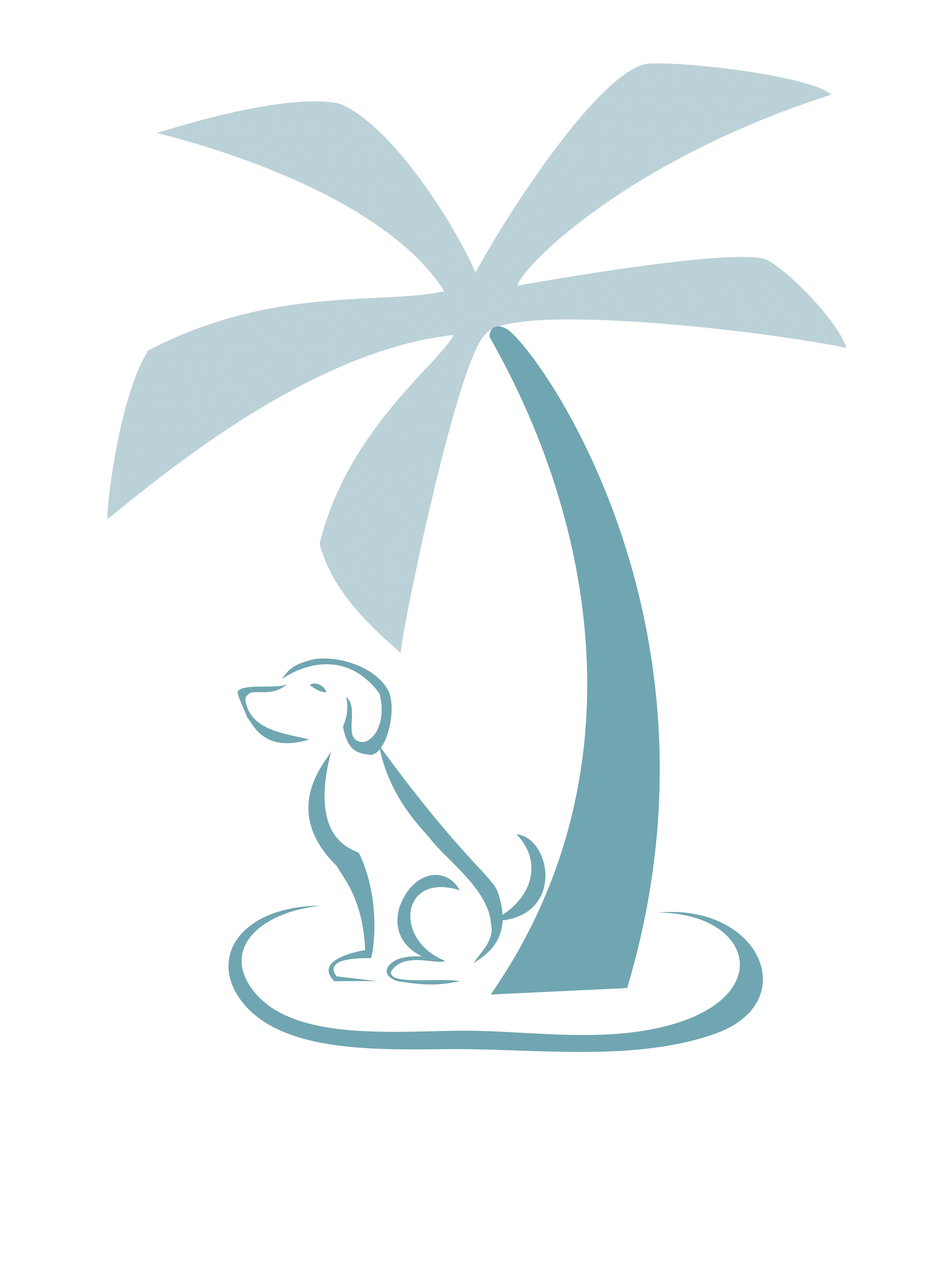 Island Dog Spa logo